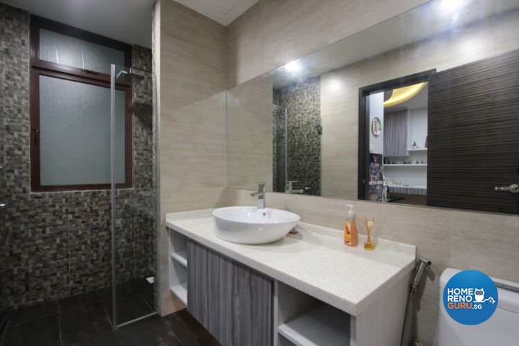 Contemporary, Modern Design - Bathroom - Landed House - Design by Beaux Monde Pte Ltd