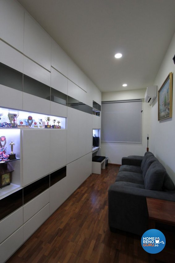 Contemporary, Modern Design - Study Room - Landed House - Design by Beaux Monde Pte Ltd