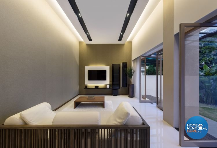 Contemporary, Minimalist, Modern Design - Living Room - Landed House - Design by Beaux Monde Pte Ltd