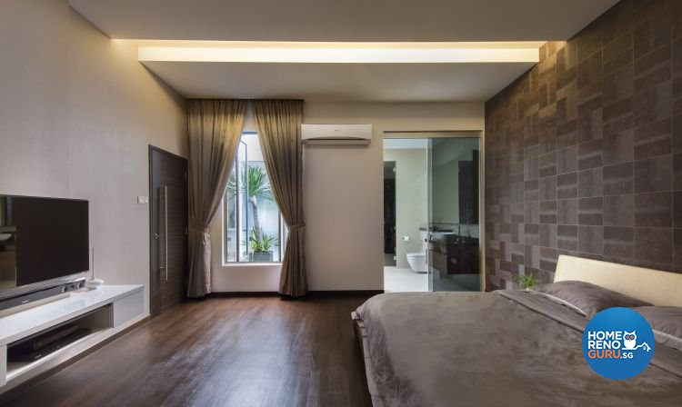 Contemporary, Minimalist, Modern Design - Bedroom - Landed House - Design by Beaux Monde Pte Ltd