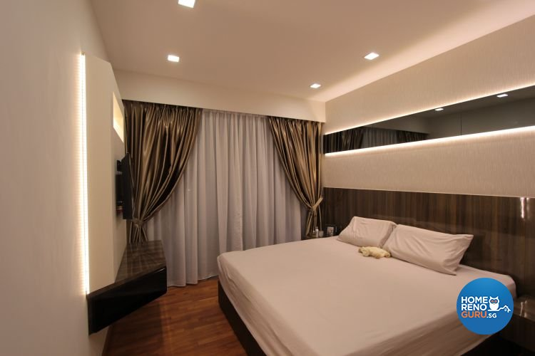 Contemporary, Minimalist, Modern Design - Bedroom - Condominium - Design by Beaux Monde Pte Ltd