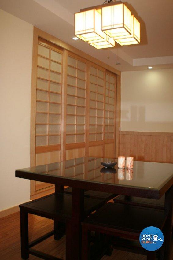 Country, Tropical Design - Dining Room - Condominium - Design by Beng Keh Design Pte Ltd