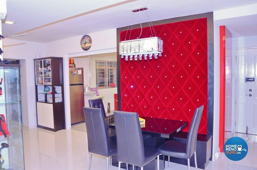Minimalist, Modern Design - Dining Room - HDB 5 Room - Design by Benz Design Interior