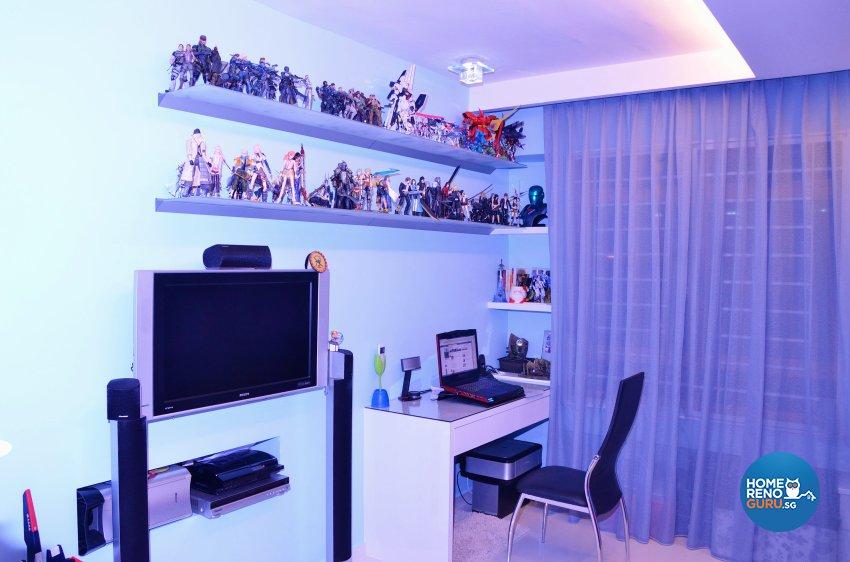 Minimalist, Modern Design - Bedroom - HDB 5 Room - Design by Benz Design Interior