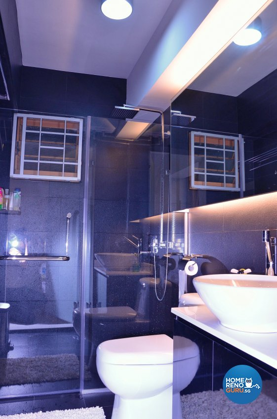Minimalist, Modern Design - Bathroom - HDB 5 Room - Design by Benz Design Interior