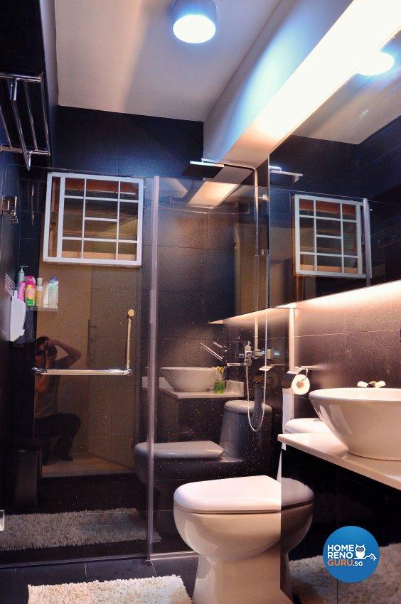 Minimalist, Modern Design - Bathroom - HDB 5 Room - Design by Benz Design Interior