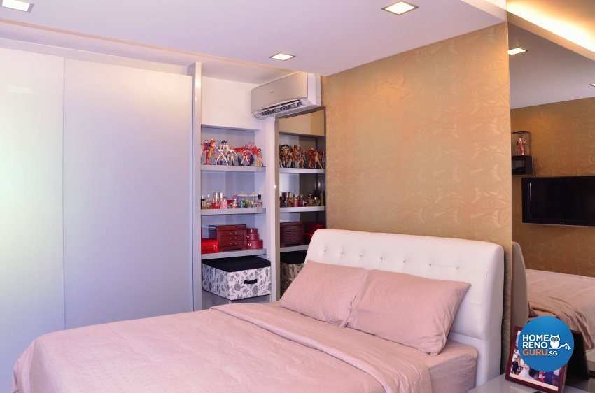 Minimalist, Modern Design - Bedroom - HDB 5 Room - Design by Benz Design Interior