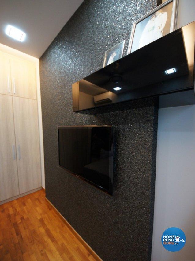 Contemporary Design - Bedroom - Condominium - Design by Benz Design Interior