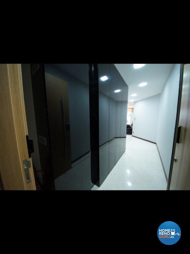 Contemporary Design - Living Room - Condominium - Design by Benz Design Interior