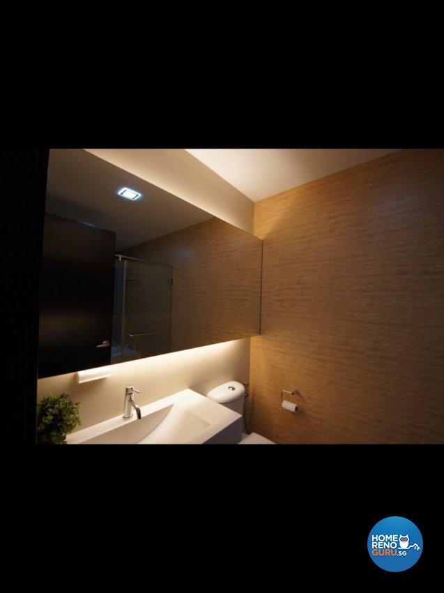 Contemporary Design - Bathroom - Condominium - Design by Benz Design Interior