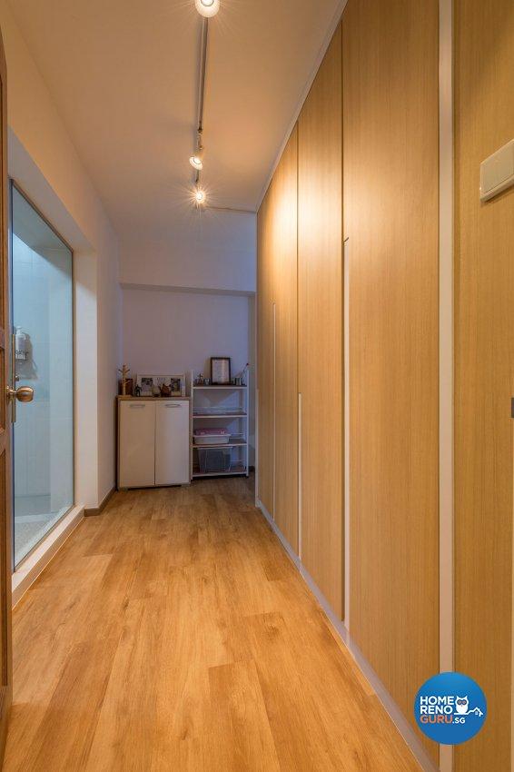 Contemporary, Minimalist, Scandinavian Design - Bedroom - HDB Executive Apartment - Design by Benz Design Interior