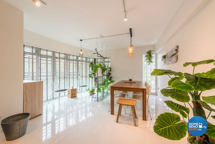 Contemporary, Minimalist, Scandinavian Design - Dining Room - HDB Executive Apartment - Design by Benz Design Interior