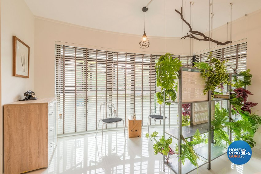 Contemporary, Minimalist, Scandinavian Design - Balcony - HDB Executive Apartment - Design by Benz Design Interior