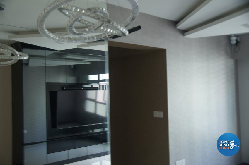 Minimalist, Modern Design - Dining Room - HDB 4 Room - Design by Benz Design Interior