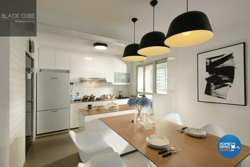 Modern, Scandinavian Design - Kitchen - Others - Design by Black Cube Interior Design Pte Ltd