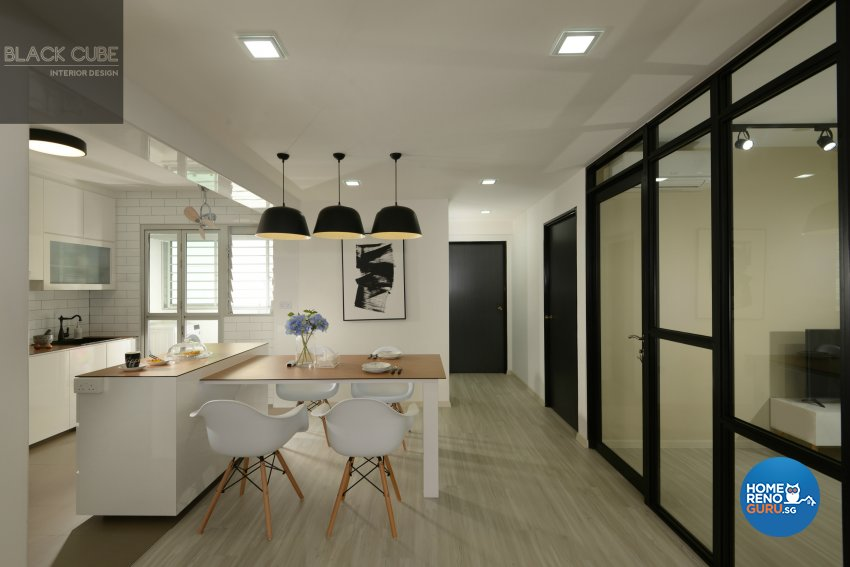 Black Cube Interior Design Pte Ltd-HDB 3-Room package