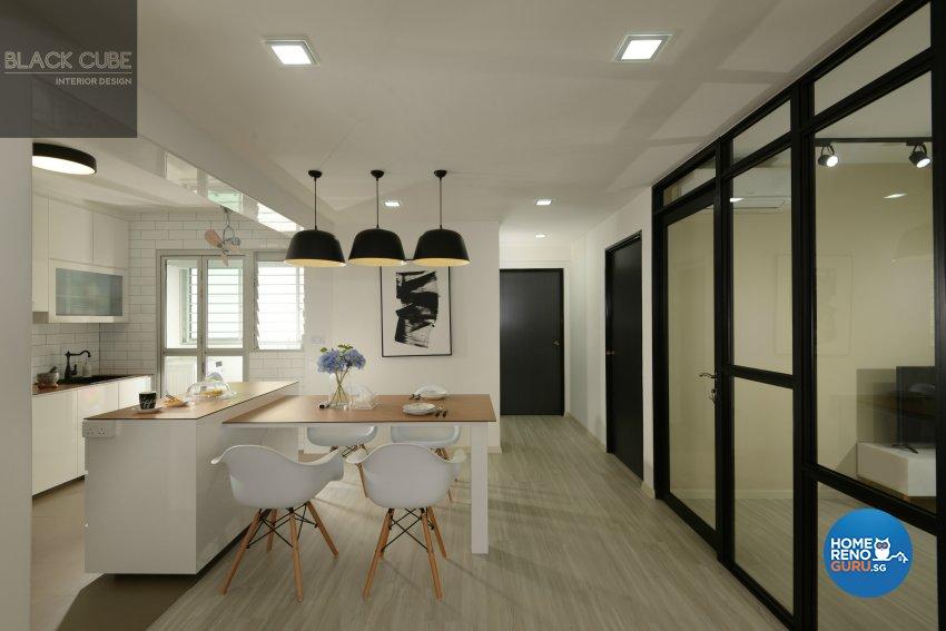 Modern, Scandinavian Design - Dining Room - Others - Design by Black Cube Interior Design Pte Ltd