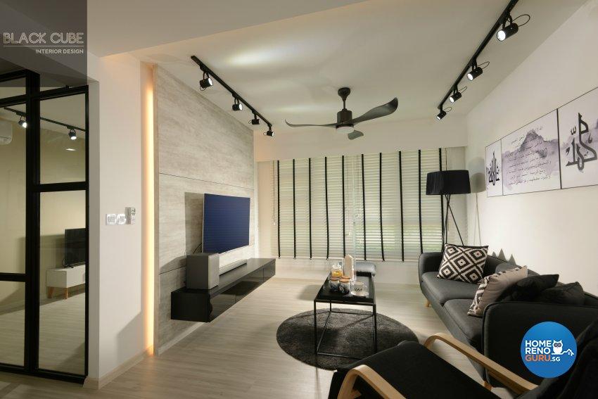Modern, Scandinavian Design - Living Room - Others - Design by Black Cube Interior Design Pte Ltd