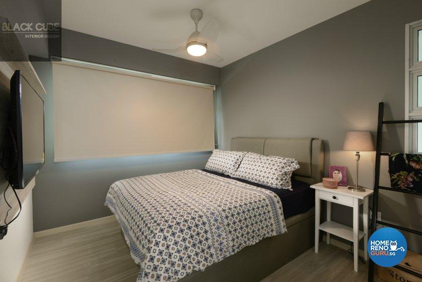Black Cube Interior Design Pte Ltd-HDB 3-Room package