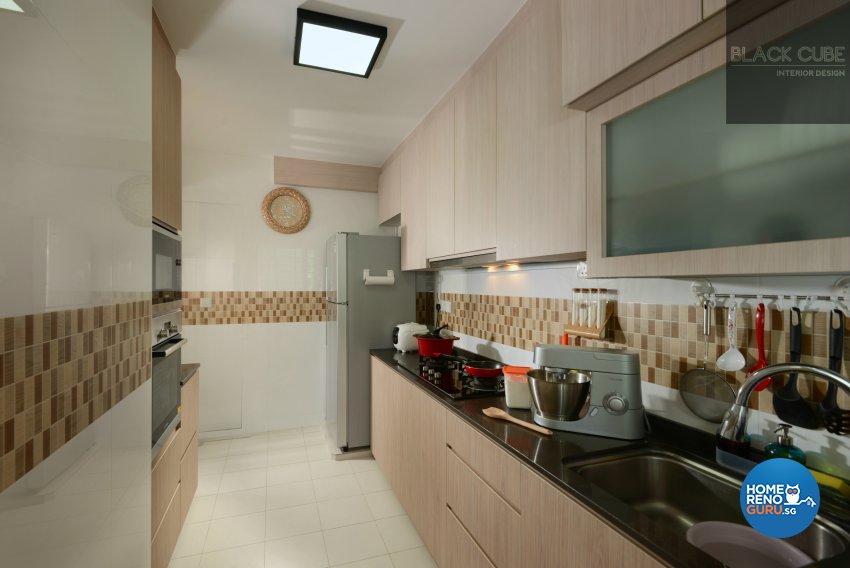 Black Cube Interior Design Pte Ltd-HDB 4-Room package