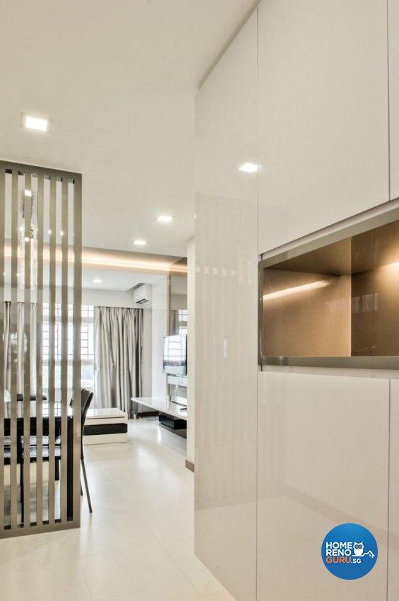 Contemporary Design - Living Room - HDB 3 Room - Design by Blackjack Royal Studio Pte Ltd