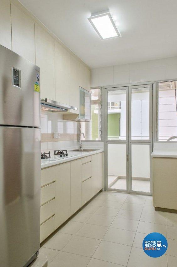 Contemporary Design - Kitchen - HDB 3 Room - Design by Blackjack Royal Studio Pte Ltd