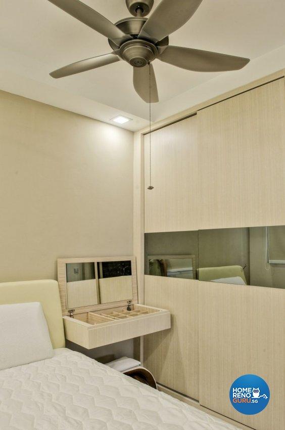 Contemporary Design - Bedroom - HDB 3 Room - Design by Blackjack Royal Studio Pte Ltd