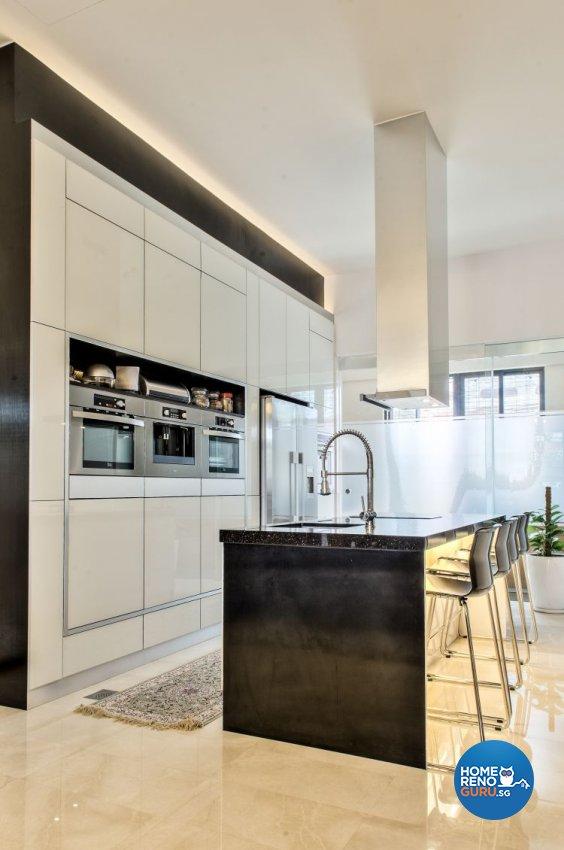 Modern, Tropical Design - Kitchen - Landed House - Design by Blackjack Royal Studio Pte Ltd