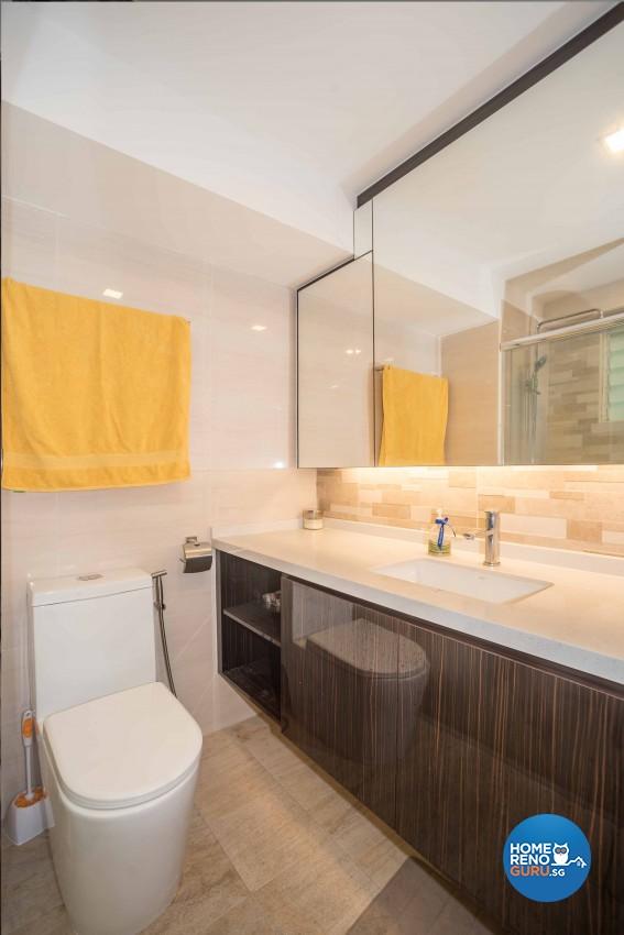 Modern Design - Bathroom - Condominium - Design by Blackjack Royal Studio Pte Ltd