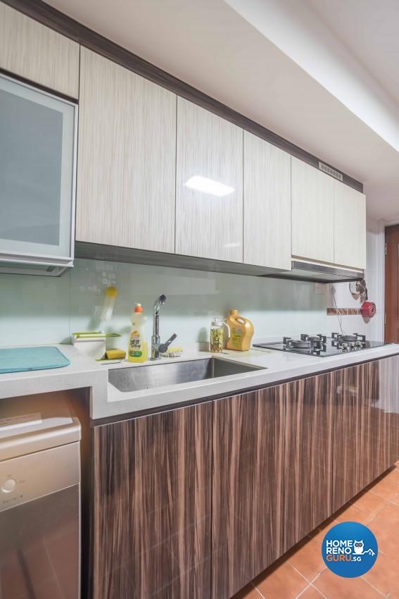Modern Design - Kitchen - Condominium - Design by Blackjack Royal Studio Pte Ltd