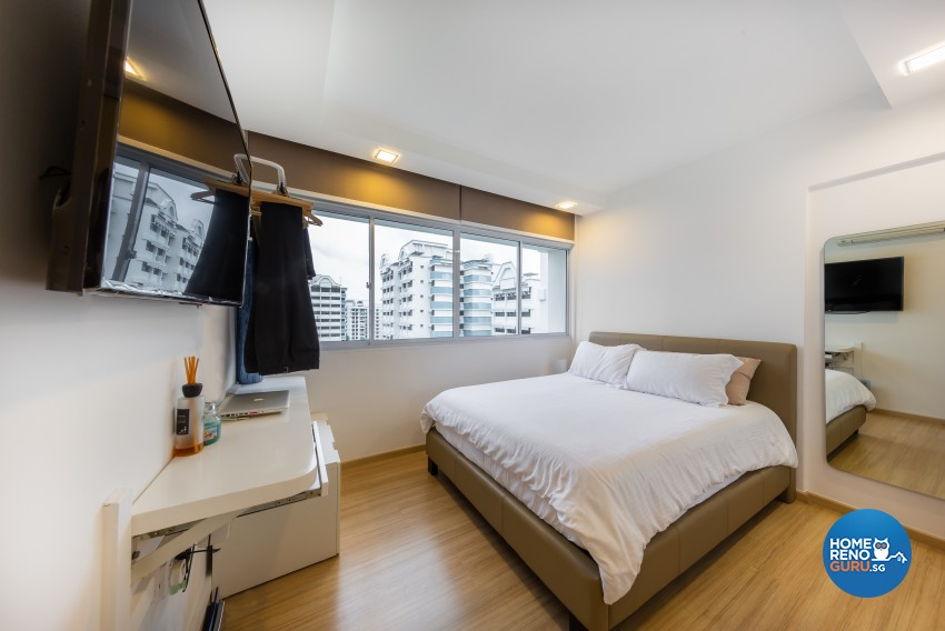 Modern Design - Bedroom - HDB 5 Room - Design by Blackjack Royal Studio Pte Ltd