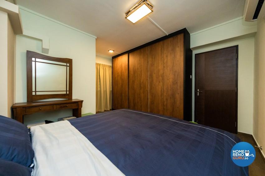 Modern, Scandinavian Design - Bedroom - HDB 4 Room - Design by Blackjack Royal Studio Pte Ltd