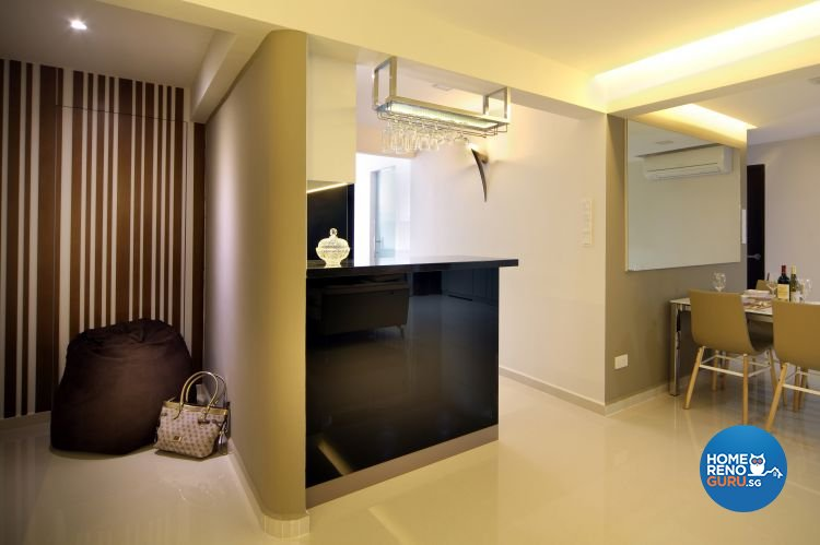 Contemporary, Modern Design - Kitchen - HDB 5 Room - Design by Boon Siew D'sign Pte Ltd