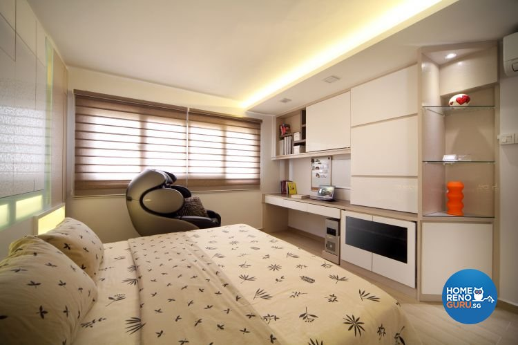 Contemporary, Modern Design - Bedroom - HDB 5 Room - Design by Boon Siew D'sign Pte Ltd