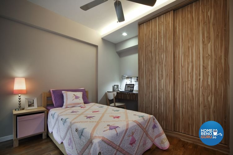 Country, Modern, Resort, Tropical Design - Bedroom - HDB 4 Room - Design by Boon Siew D'sign Pte Ltd