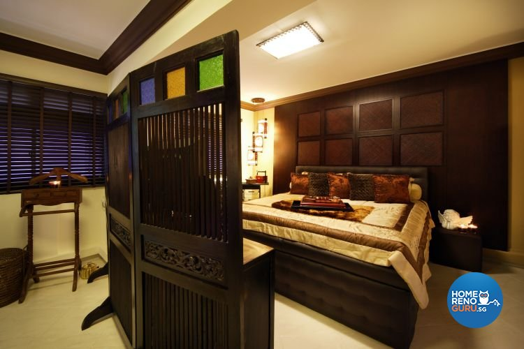 Classical, Modern Design - Bedroom - HDB 5 Room - Design by Boon Siew D'sign Pte Ltd