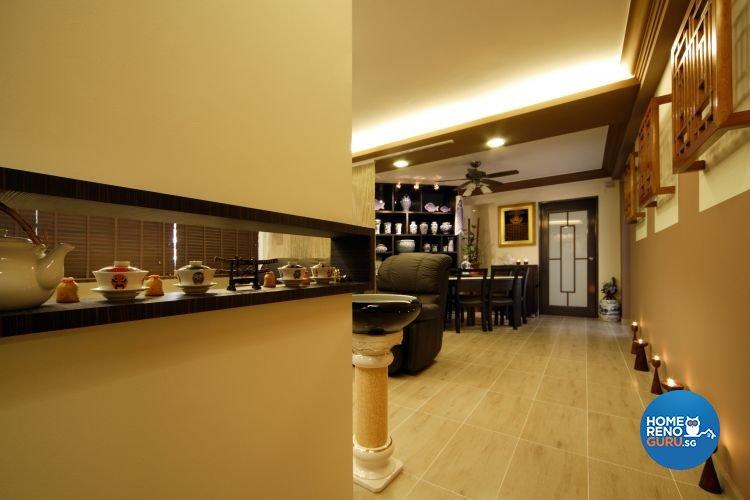 Classical, Modern Design - Living Room - HDB 5 Room - Design by Boon Siew D'sign Pte Ltd