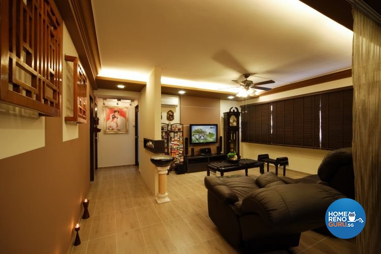Classical, Modern Design - Living Room - HDB 5 Room - Design by Boon Siew D'sign Pte Ltd