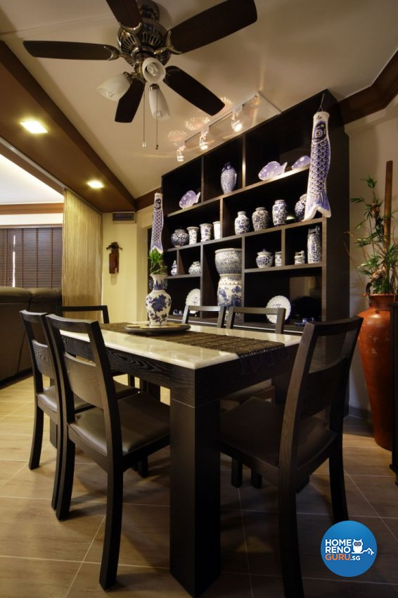 Classical, Modern Design - Dining Room - HDB 5 Room - Design by Boon Siew D'sign Pte Ltd