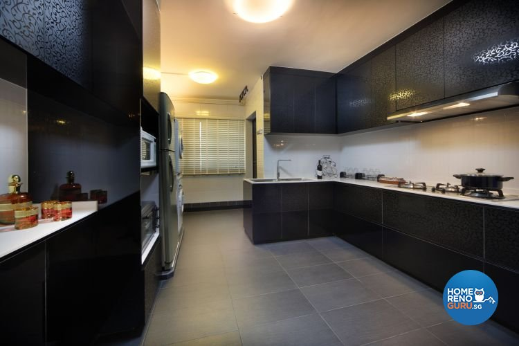 Classical, Modern Design - Kitchen - HDB 5 Room - Design by Boon Siew D'sign Pte Ltd
