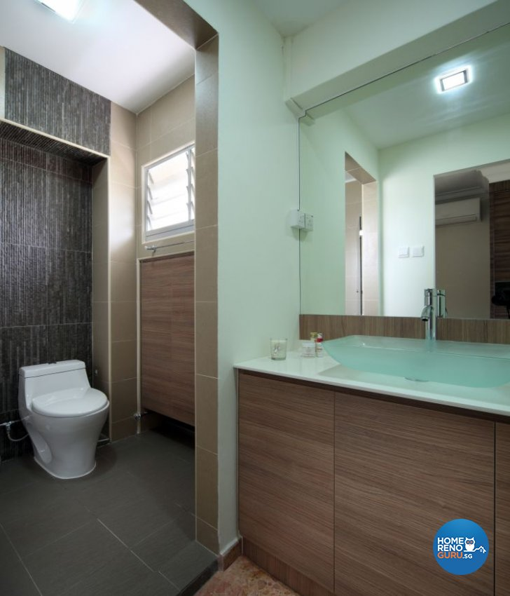 Country, Modern, Resort, Tropical Design - Bathroom - HDB 5 Room - Design by Boon Siew D'sign Pte Ltd