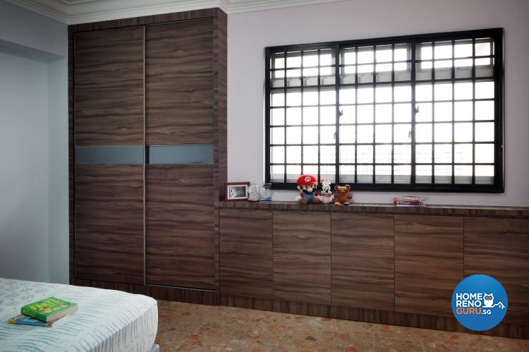 Country, Modern, Resort, Tropical Design - Bedroom - HDB 5 Room - Design by Boon Siew D'sign Pte Ltd