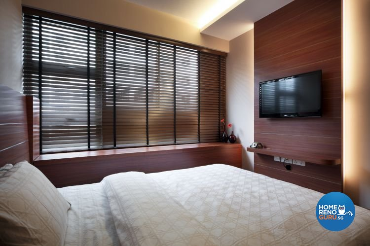 Country, Modern, Tropical Design - Bedroom - HDB 4 Room - Design by Boon Siew D'sign Pte Ltd