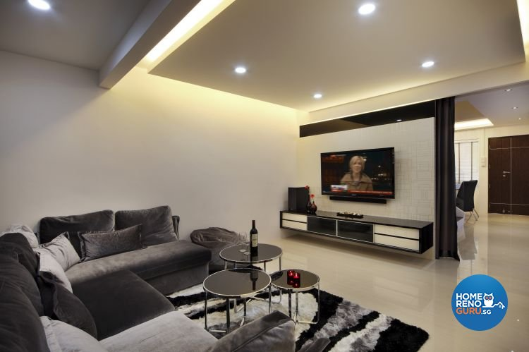 Contemporary, Modern Design - Living Room - Others - Design by Boon Siew D'sign Pte Ltd