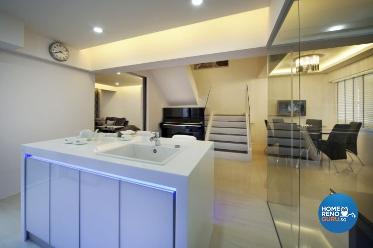 Contemporary, Modern Design - Kitchen - Others - Design by Boon Siew D'sign Pte Ltd