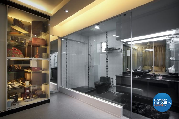 Contemporary, Modern Design - Bathroom - Others - Design by Boon Siew D'sign Pte Ltd
