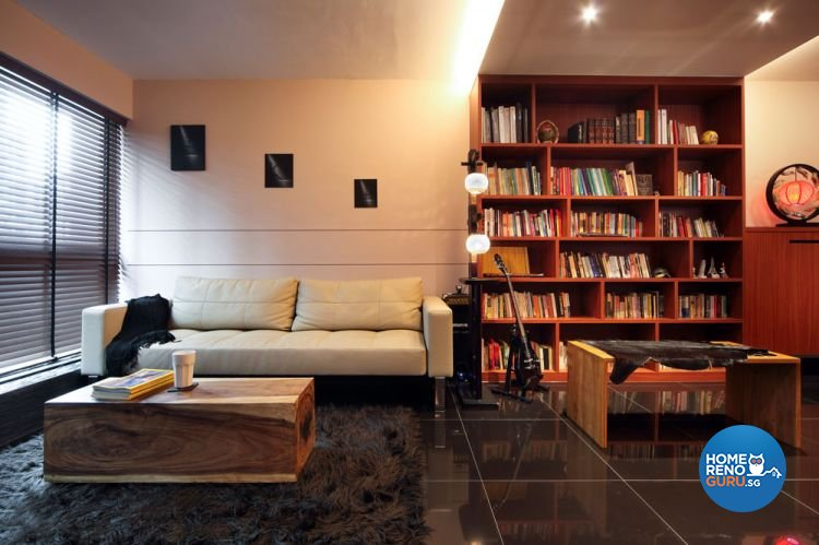 Contemporary, Modern Design - Living Room - HDB 4 Room - Design by Boon Siew D'sign Pte Ltd