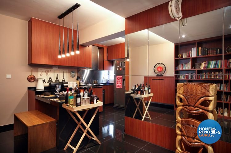 Contemporary, Modern Design - Dining Room - HDB 4 Room - Design by Boon Siew D'sign Pte Ltd