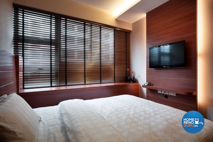 Contemporary, Modern Design - Bedroom - HDB 4 Room - Design by Boon Siew D'sign Pte Ltd