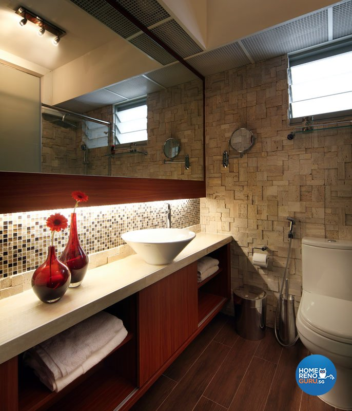 Contemporary, Modern Design - Bathroom - HDB 4 Room - Design by Boon Siew D'sign Pte Ltd